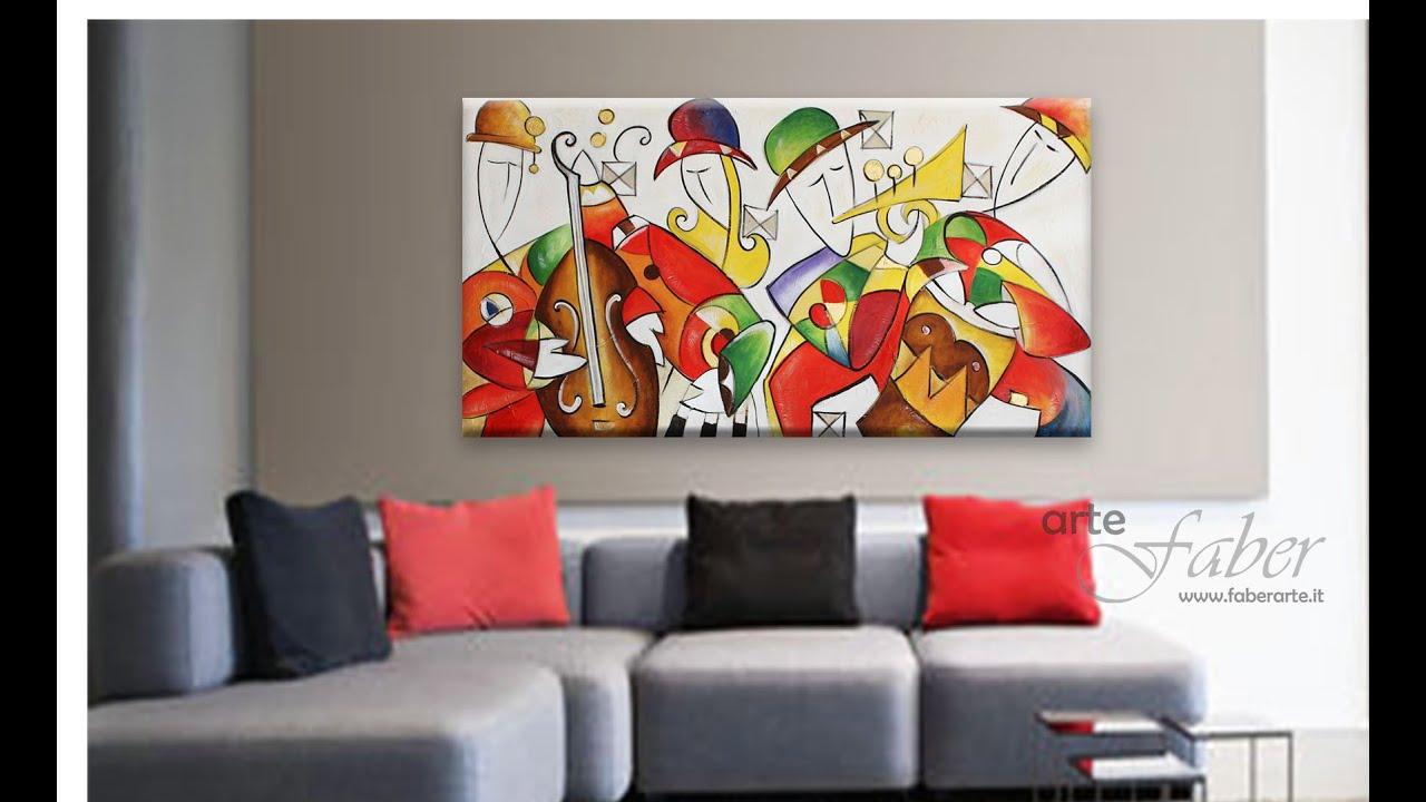 Realizzazione quadri astratti, quadri moderni dipinti a mano www ...