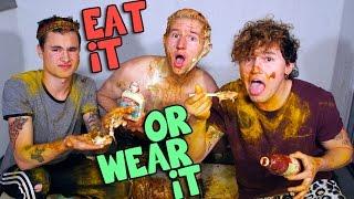Repeat youtube video EAT IT OR WEAR IT CHALLENGE w/ Kian & Jc