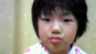 aomi,5才。 中国人のママと中国語を勉強し始めた。