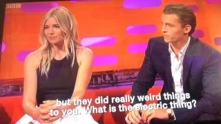 Tom Holland (Spiderman) talks about EMS with Graham Norton & Mark Wahlberg