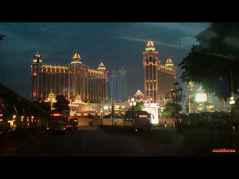 Macau A-Ma Temple,Tower TV,Night view from the bus - Trip to China part 69 - Full HD travel video