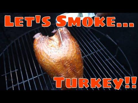 How To Brine And Smoke An Amazing Turkey Breast!
