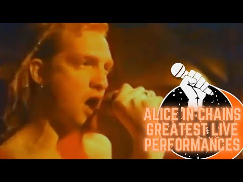 Alice In Chains Greatest Live Performances (Part 1)