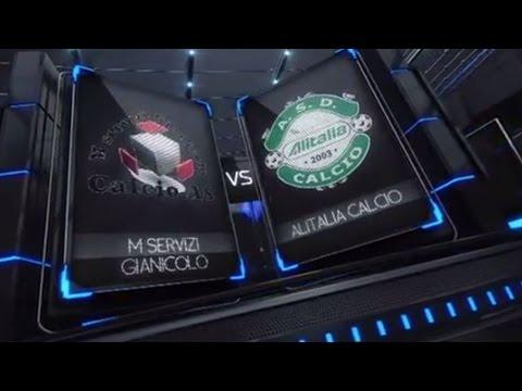 [Integrale] A - 2^ - M.Servizi Gianicolo VS Alitalia Calcio - legacalcioa8.it