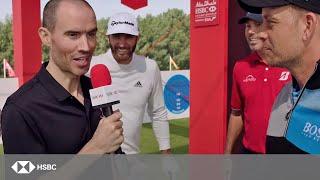 HSBC Sport | USA vs Europe: Incredible Golf Accuracy Challenge ft Johnson, Kuchar, Stenson and Rose