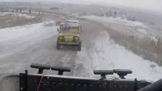 Экстремальное Вождение на УАЗе (UAZ Hunter) /Автокросс 2016/ Школа Биньямина Джепаева