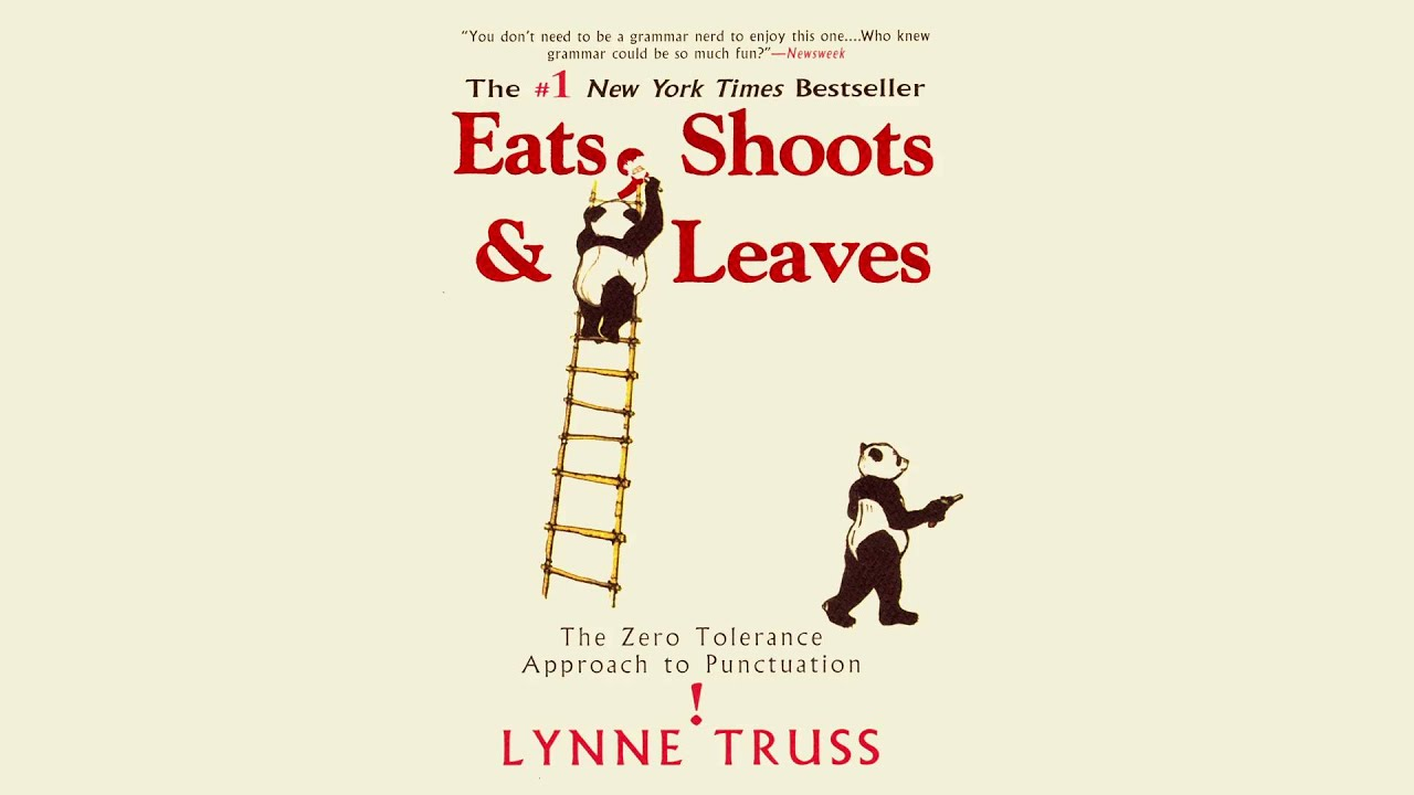 Lynne truss eats shoots and leaves youtube lynne truss eats shoots and leaves fandeluxe Choice Image