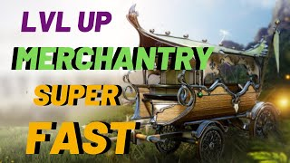 Black Desert Mobile Merchantry Level Up Fast (Best Trade Run Route)