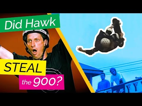 Did Tony Hawk STEAL the 900? Both Sides of the Story