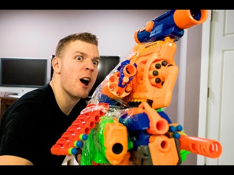 Thumbnail: NERF WAR: WORLD'S BEST ILLEGAL NERF GUN GAME MASTER MOD EVER (NERF VS BUZZBEE)