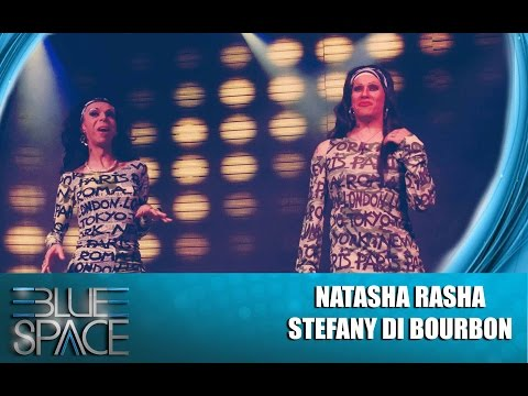 Blue Space Oficial - MATINÊ -  NATASHA RASHA E STEFANY DI BOURBON - 02.08.15