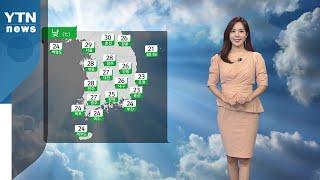 [날씨] 주말 내륙 무더위...다음 주 잦은 비  / YTN