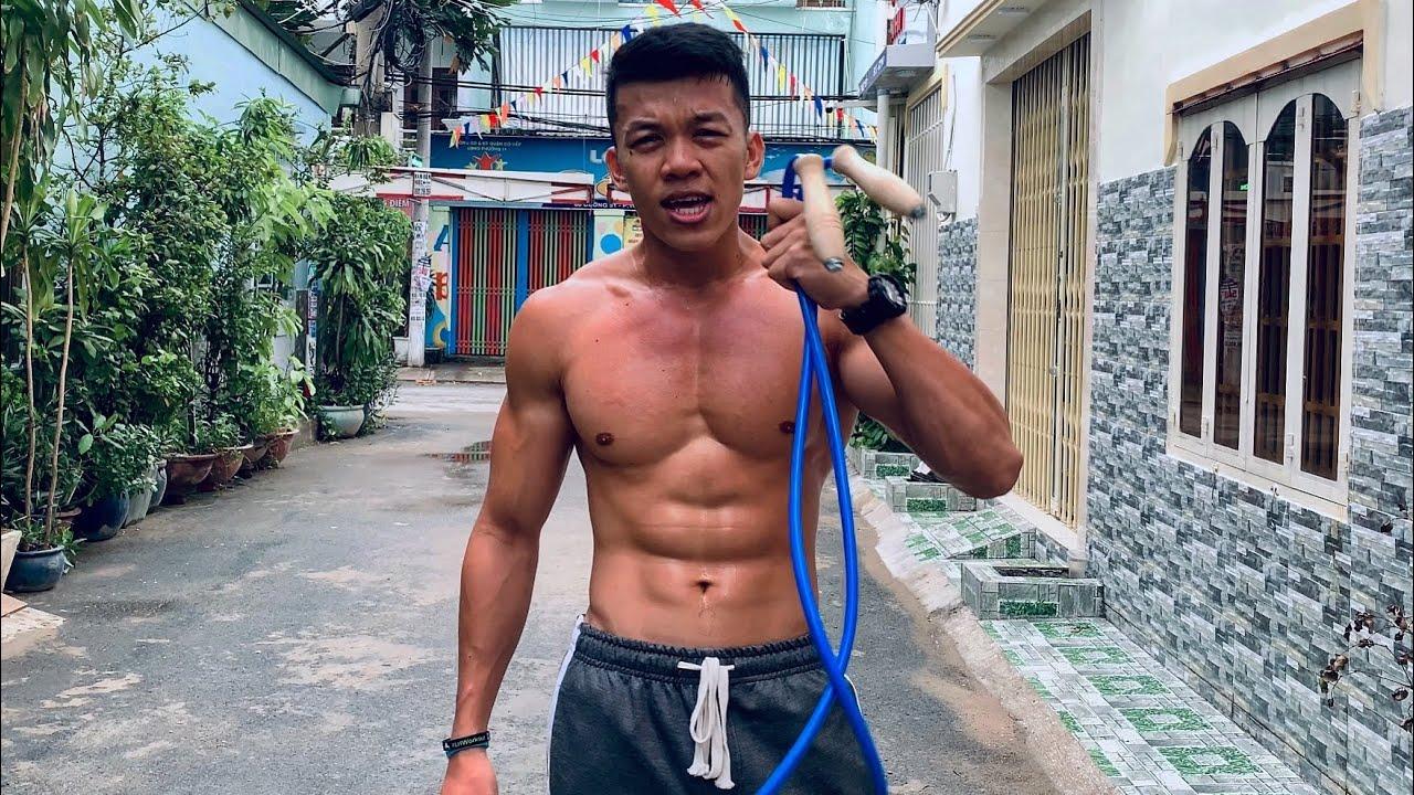 Hướng dẫn QUAY TAY với DÂY 50 Sắc Thái - Cách nhảy dây cho người mới bắt đầu - Làng Hoa Workout.
