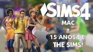 The Sims 4   Versão de MAC + 15 Anos da Franquia