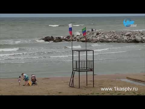 Впервые за много лет Набережная Каспийска стремительно преображается