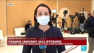 Associate of 2015 Charlie Hebdo attack gang found guilty of terrorism