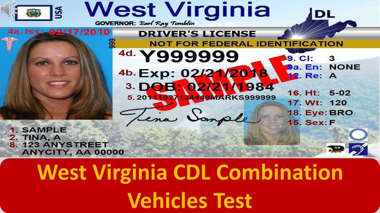 West Virginia CDL Combination Vehicles Test