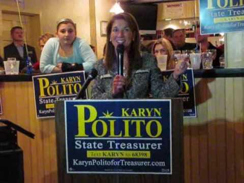 Karyn Polito Rally