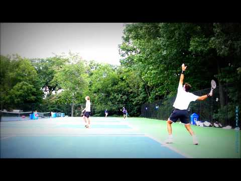 Incredible GIANT Juan Martin del POTRO super slow motion SERVE 🎾 ATP Court practice ☔️ RAIN 🐼 (HD)