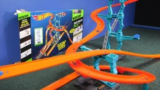 Spiral Stack-Up Starter Set For Hot Wheels Track Builder Track System