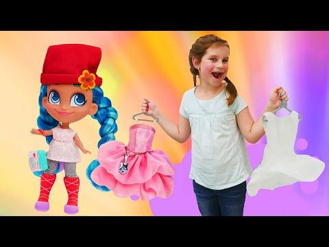 Новые видео девочкам - Классные куклы Хейрдораблс! - Веселые игры одевалки.