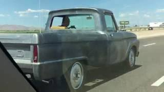 1966 F100 EcoBoost  MPG Cruise Testing 24+ MPG @ 75 MPH