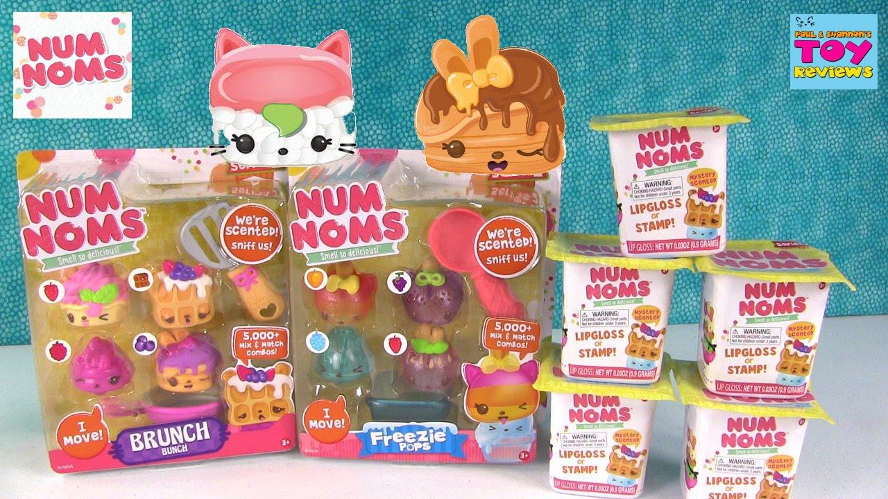 Num Noms Snackables Snow Cones Series 2 Blind Surprise 2 Packs Bundle New