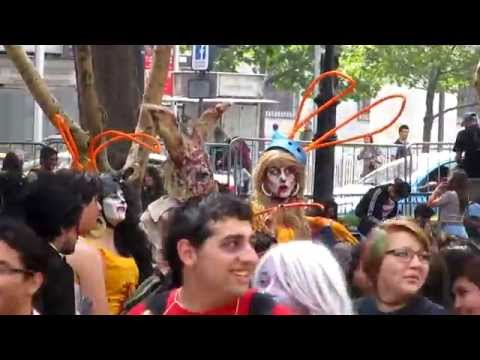 ZOMBIEWALK POST APOCALIPSIS - Santiago de Chile 2015