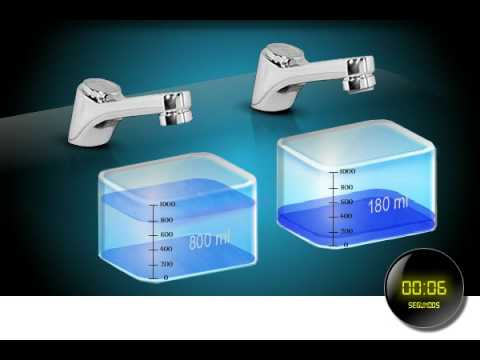Arejador economizador de gua para torneiras youtube for Impermeabilizante para estanques de agua