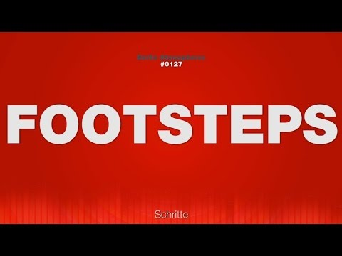 Footsteps - SOUND EFFECTS - Steps Schritte SOUND