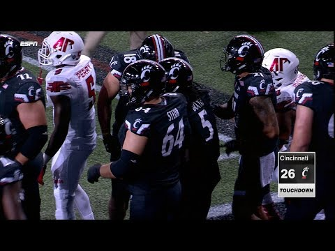 Football Highlights: Cincinnati 26, Austin Peay 14