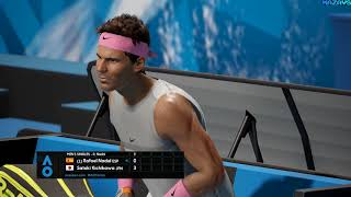 AO International Tennis ★ GamePlay ★ Ultra-Einstellungen