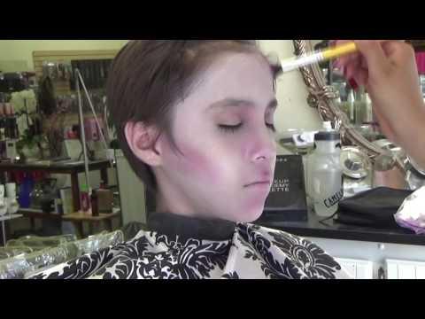 Addams Family, Ancestor Makeup Tutorial