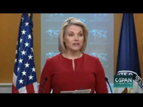 State Department Briefing  (Playa Del Carmen) March 8 2018