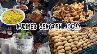 BIKIN NGILER!!! Top 10 Kuliner Enak Khas Pasar Malam Sekaten Jogja - Kuliner Malam Yogyakarta