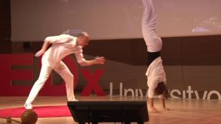 Fluid Balance & Capoeira | Katjuša Kovačič & Nikola Orešković | TEDxUniversityofZagreb