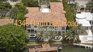 4340 north bay road miami beach fl 33140 luxury waterfront house for sale