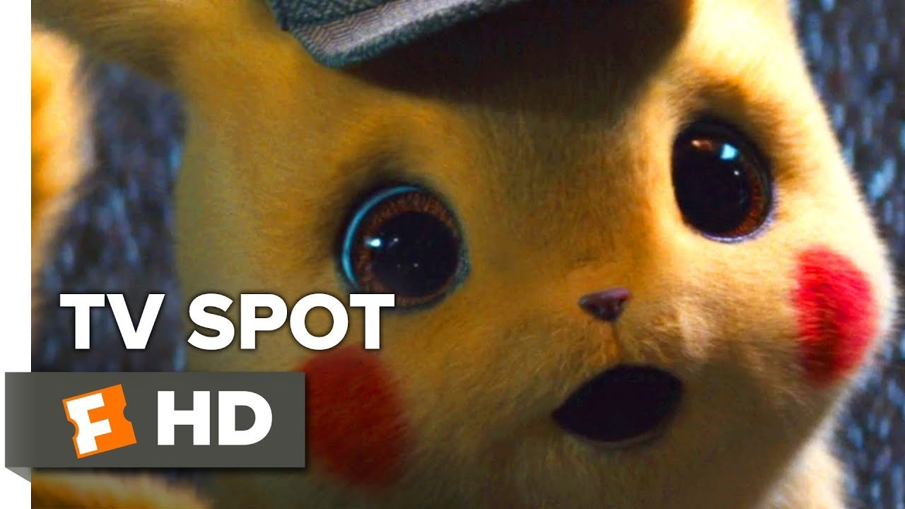 Pokemon Detective Pikachu Tv Spot 2019 Movieclips Trailers Youtube