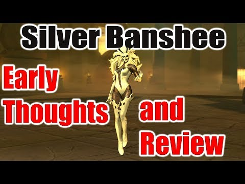 DC Unchained: Silver Banshee Early review/build