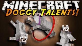майнкрафт. Обзор мода - Doggy Talents Mod