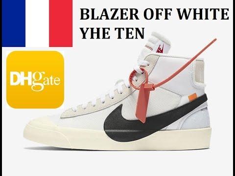 off white blazer dhgate