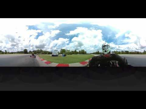 360fly 4K Shifter Kart Onboard @ Blackhawk Farms