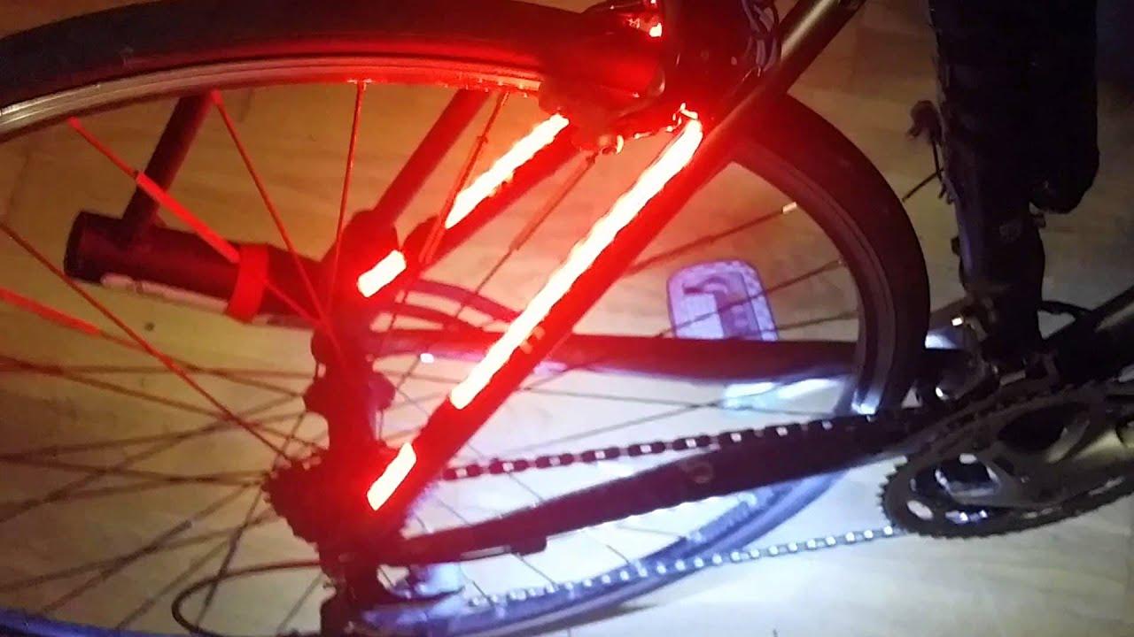 Freno luci per bici youtube