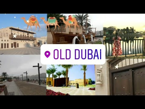 The beauty of old dubai | heritage walk bur dubai | alshindagha heritage village