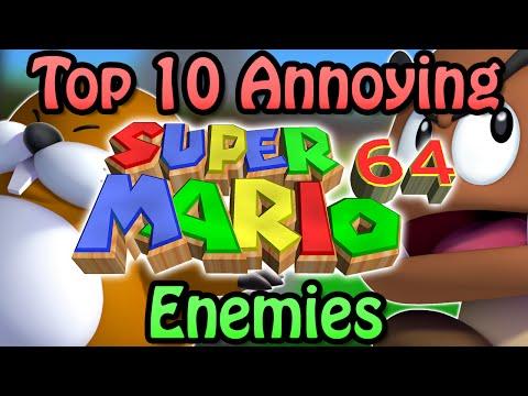 Top 10 Annoying Super Mario 64 Enemies