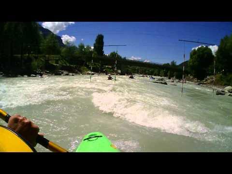 Kayak Durance - Argentieres to Embrun 34 km - August 2015