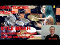 Drum Teacher reacts to Kyle Brian (Dragonforce - Through the Fire and the Flames)