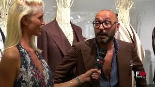 TAGLIATORE Interview with PINO LERARIO | Pitti 94 Firenze - Fashion Channel
