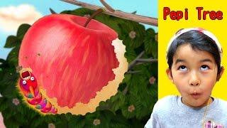木に棲むたくさんの生き物が出てくるよ♪アプリ☆Pepi Tree☆himawari-CH thumbnail