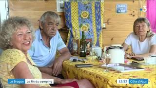 Le quartier des campings de la Brague à Antibes 4 ans après les inondations